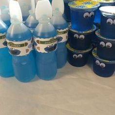 Nixs Party Affairs's Birthday / Cookie Monster - Photo Gallery at Catch My Party Monster First Birthday, Monster 1st Birthdays, Monster Birthday Parties, 2nd Birthday Party Themes, Baby 1st Birthday, Birthday Ideas, Halloween Stuff, Halloween Halloween, Halloween Treats