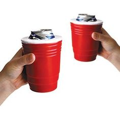 Red Cup Kool Koozie (Set of 2) - Keeps Icey Drinks Cold! Insulated Foam Can Holder by Big Mouth Toys, http://www.amazon.com/dp/B007R450NO/ref=cm_sw_r_pi_dp_8ZQnqb10PNQBP