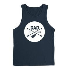 New Dad father's day gift ideas for him best dad new daddy est 2016 Tank Top