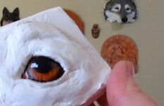 Ultimate Paper Mache website – lots of ideas and how tos Ultimative Paper Mache-Website – viele Ideen und Anleitungen Paper Mache Projects, Paper Mache Clay, Paper Mache Sculpture, Paper Mache Crafts, Art Projects, Diy Paper, Paper Art, Diy Fimo, Paper Mache Animals