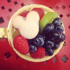 Top 9 Mickey-Shaped Foods, Fruit Tart Cookie