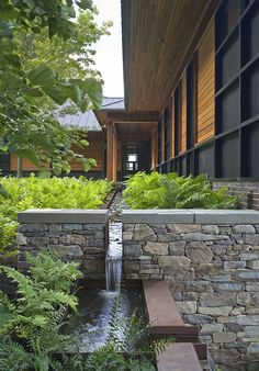 quaker smith point res | landscape ~ h. keith wagner partnership | birdseye design architect