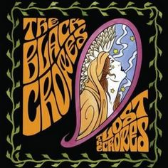 the black crowes - cover art inspired by art nouveau