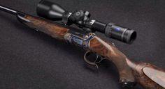 Johann Fanzoj single shot rifle