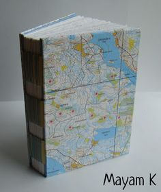 Book I made of map