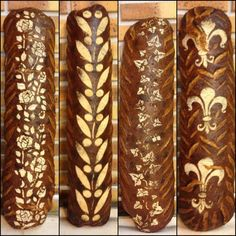 Eastern European decorated breads