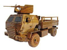 M1078 LMTV Light Medium Tactical Vehicle Utility Truck Army Wood Wooden Model by MilitaryMahogany on Etsy