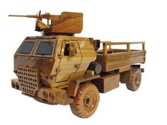 M1078 LMTV Light Medium Tactical Vehicle Utility Truck Army Wood Wooden Model by MilitaryMahogany on Etsy