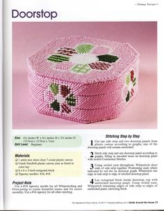 """~""""Quilts Around The House""""~ Pg 24"""