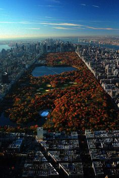 Autumn in New York.