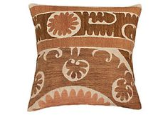 Suzani Pillow, Multi from nuLOOM     $69.00