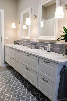 Double Vanity, Bathroom, House, Washroom, Home, Full Bath, Bath, Bathrooms, Homes