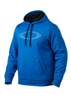 Moletom Oakley Men's Garo Pullover Hoodie Electric Blue #Moletom #Oakley