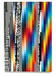 "JoanMira - 1 - World: Arte - Felipe Pantone : ""Chromadynamica - Glitch Art, Atelier Design, Glitch Wallpaper, Acid Art, Vaporwave Art, Skateboard Design, Hippie Art, Poster S, Design Graphique"