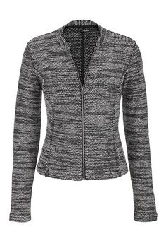 moto jacket in marle