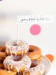 Sprinkle Baby Shower Decorating Ideas : Home Improvement : DIY Network