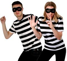 Couples #burglar #fancy dress costumes his and hers halloween #robber thief s-xxl,  View more on the LINK: http://www.zeppy.io/product/gb/2/301755687287/