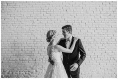 Minimalistic Wedding First Look