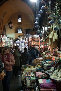 Conspiracies of the Istanbul Spice Market by Olga Irez of Delicious Istanbul