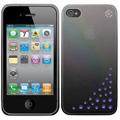 Bling My Thing/iPhone4&4S METALLICMIRRORDiffusionPurpleVelvet 3900yen Swarovski公認 iPnoe4ケース