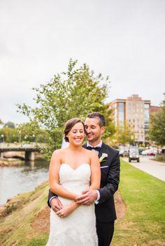Huguenot Mill German Themed Wedding Downtown Greenville, SC