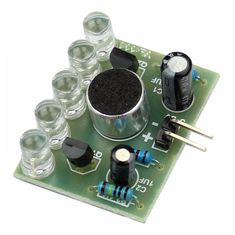 New Sound Control LED Melody Lamp Electronic Production Kits Suite Integrated Circuits
