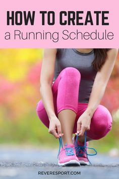 Whether you're preparing for a big #race or want to increase your #fitness levels, this guide to creating a #runningschedule will help you achieve your goals