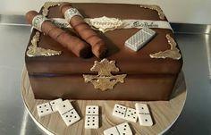 Sandra's Cakes : More Birthday Cakes! Sandra's Cakes : More Birthday Cakes! Birthday Cakes For Men, 21st Bday Cake, Birthday Desserts, 40th Birthday Parties, Cigar Cake, Cigar Cupcakes, Jack Daniels Cake, Liquor Cake, Cigar Party