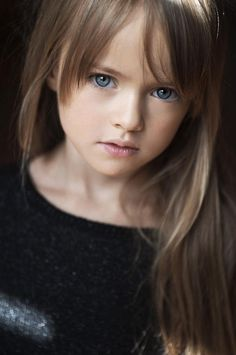 Kristina Pimenova - young child model from Moscow, Russia…