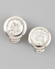 Diamond Stud Earrings by Roberto Coin at Neiman Marcus.