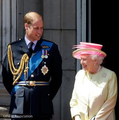 """British Monarchy on Twitter: The Duke of Cambridge writes, in the preface to the new biography of the Queen, """"I am privileged to have The Queen as a model for a life of service to the public."""""""