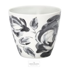 GreenGate latte cup Amanda dark grey AW16