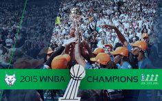 Congratulations to your 2015 WNBA Champions, Minnesota Lynx