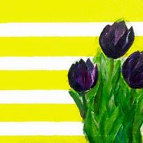 """""""Black Tulips"""" - one of my favorites but no one has inquired about this yet."""