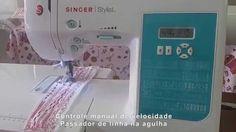 Máquina de Costura Domestica Singer Stylist 7258