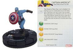 Captain America #012 Captain America: The Winter Soldier Marvel Heroclix Single