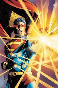 Superman Powers Up