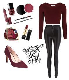 """""""Untitled #38"""" by livvy1311 on Polyvore featuring Topshop, Parisian and Charles by Charles David"""