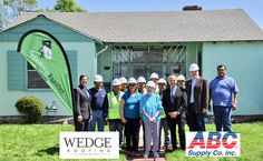 Wedge Roofing and ABC Supply Donate New Roof to help elderly San Francisco Bay Area resident. #RebuildTogether