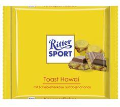 RITTER SPORT Fake Schokolade Toast Hawai