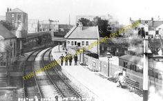 Easton Railway Station Photo. Portland and Weymouth Line. GWR & LSWR