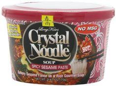 Crystal Noodle Soup, Spicy Sesame Paste, 2.47 Ounce (Pack of 6) * For more information, visit image link.