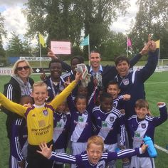 """""""What an AMAZING day at the RvP international tournament,"""" posted @manutd forward van Persie, at his annual competition for Under-9s and Under-10s teams in Holland."""