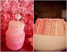 Pink ombré cake! Jen