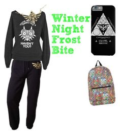 """For WinterNightFrostBite!"" by jdc0012 ❤ liked on Polyvore featuring Nintendo"