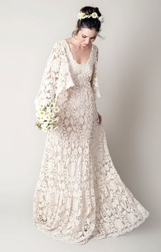 Bridal hijab wedding etsy 52 Ideas for 2019 Wedding Wear, Chic Wedding, Wedding Styles, Wedding Gowns, Bridal Hijab, Mode Boho, Bohemian Wedding Dresses, 1970s Wedding Dress, Lovely Dresses