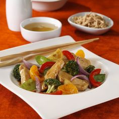 Mandarin Chicken Stir-Fry