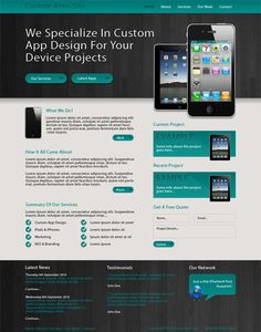 HOW TO CREATE A CUSTOM APP SITE LAYOUT