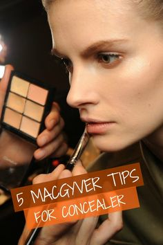 Great concealer tips
