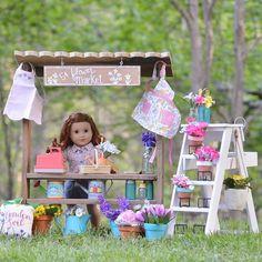Og Dolls, Girl Dolls, Doll Crafts, Diy Doll, Ag Doll House, My American Girl Doll, Miniature Crafts, Handmade Headbands, Handmade Journals